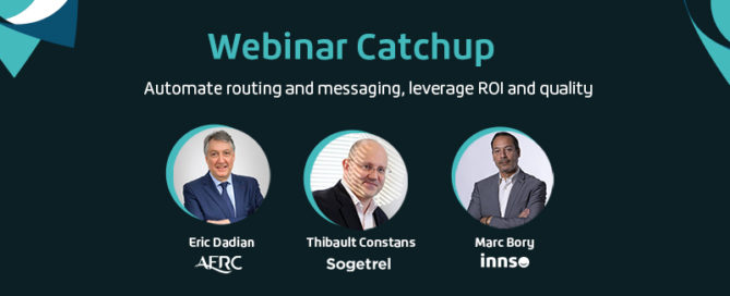 Webinar Catchup featuring AFRC, Sogetrel, innso